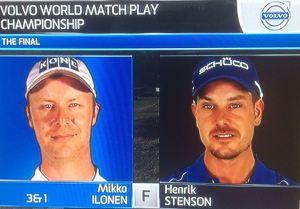 Mikko vs Stenson